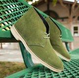 Clarks Desert Boot Leaf Suede_
