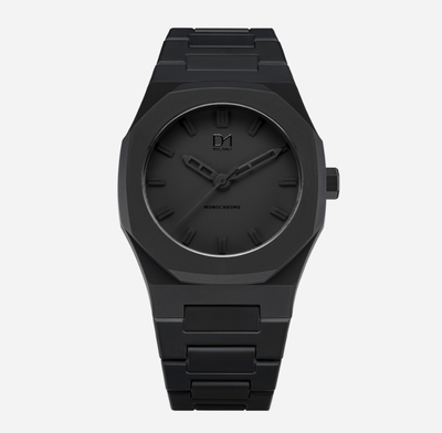 D1Milano Watch Black Monochrome