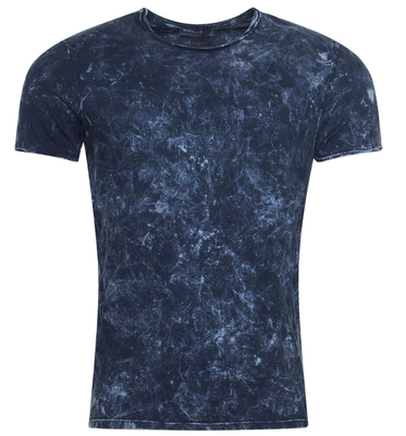 Wool & Co T-shirt donkerblauw 6380