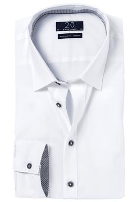 Profuomo Overhemd 2.0 white stretch