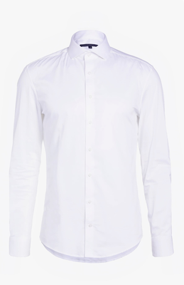 Drykorn overhemd white Elias