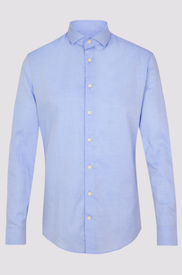 Drykorn overhemd Elias Lichtblauw