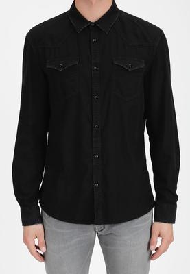 Drykorn overhemd Samu Black