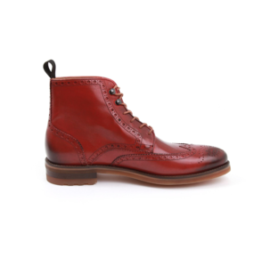 Boots and Barbers Cobblers Red